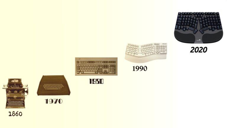 Truly Ergonomic Cleave - Ergonomic Keyboard History 1860-2020