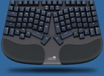 Truly Ergonomic CLEAVE - Most Comfortable Optical Mechanical Keyboard