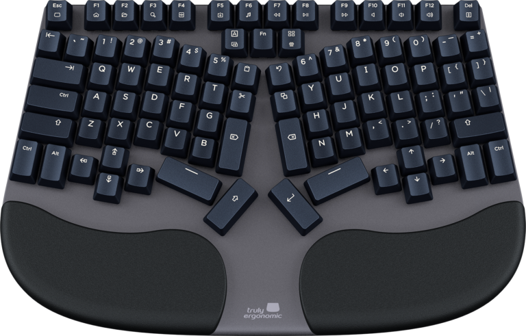 Truly Ergonomic CLEAVE - Most Comfortable and Best Optical Mechanical Keyboard