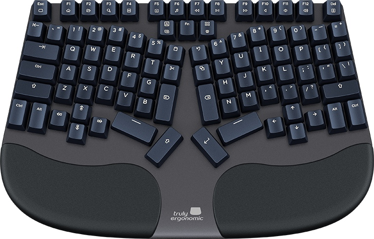 Truly Ergonomic CLEAVE Most Comfortable Optical Mechanical Keyboard