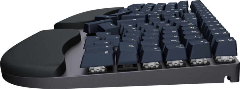 Truly Ergonomic Cleave Keyboard - Cherry-MX type Cross Mount Keycaps