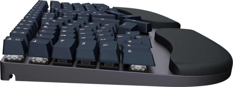 Truly Ergonomic Cleave Keyboard - Floating Keycaps allow Easy Cleaning