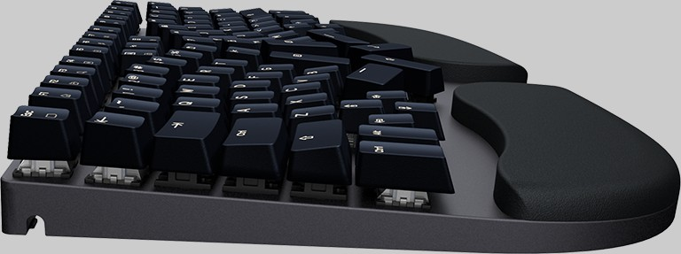 Truly Ergonomic Cleave - Floating Keycaps Easy to Clean