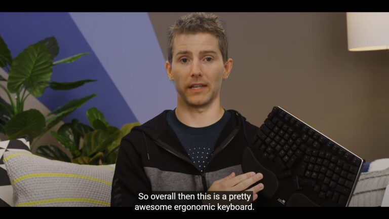 Truly Ergonomic Cleave - LinusTechTips Pretty Awesome Ergonomic Keyboard