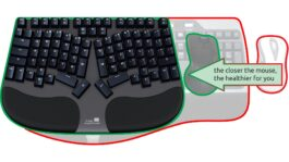 Truly Ergonomic Cleave - Mouse very close to neutral position