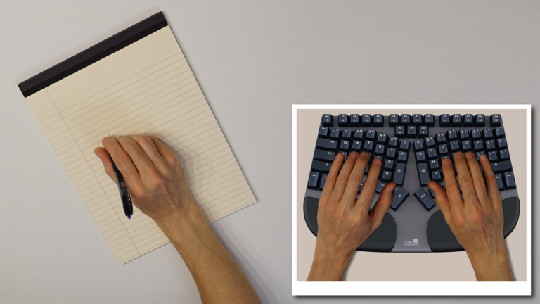 Truly Ergonomic Cleave Keyboard - Pain Free Productivity - 1