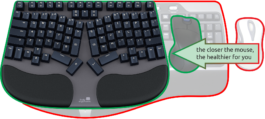 Truly Ergonomic Cleave Keyboard - Reclaim Your Desk Space