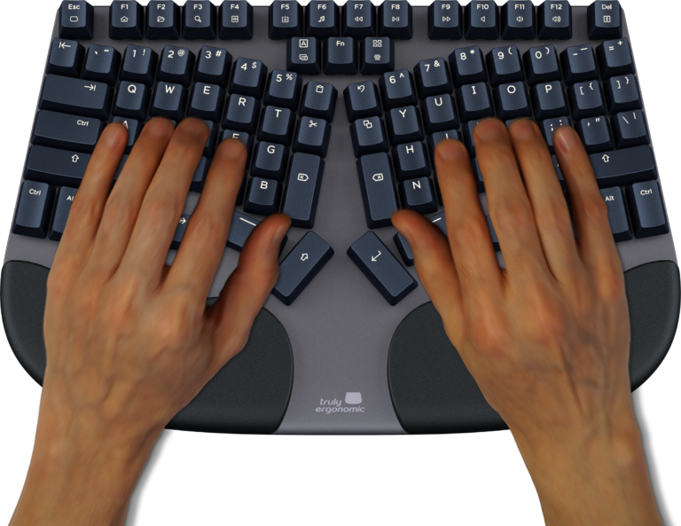 Truly Ergonomic Cleave Keyboard - Relative Finger Strength