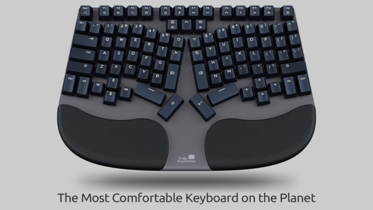 Truly Ergonomic Cleave Keyboard - Most Comfortable on the Planet