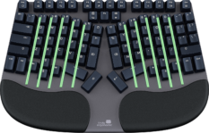 Truly Ergonomic Cleave Keyboard - Unique Columnar Layout Vertical Stagger