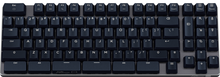 Truly Ergonomic Fasterini - Best Optical Gaming Mechanical Keyboard