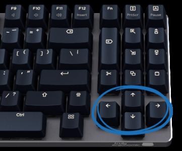 Truly Ergonomic Fasterini Keyboard -