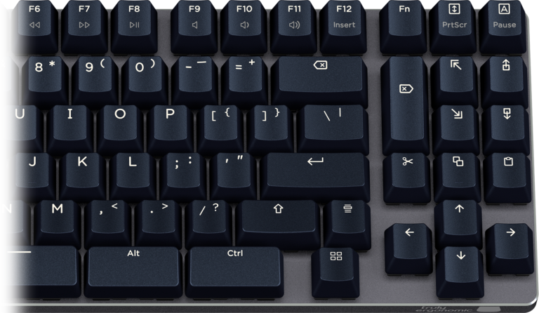 Truly Ergonomic Fasterini Keyboard - Pleasing Legends