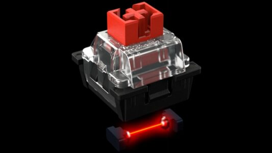 Truly Ergonomic - Optical Infrared Switch Linear