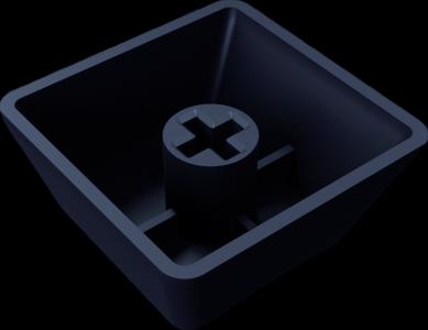 Truly Ergonomic Keyboard - Cherry MX‑type Cross‑Mount compatible keycaps