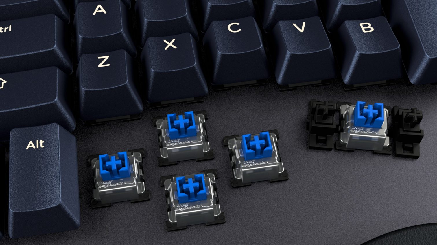 Truly-Ergonomic-Cleave--Infrared-Switches-Tactile-Clicky